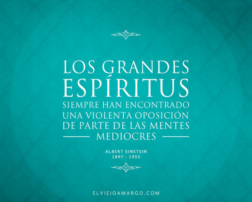los grandes espiritus