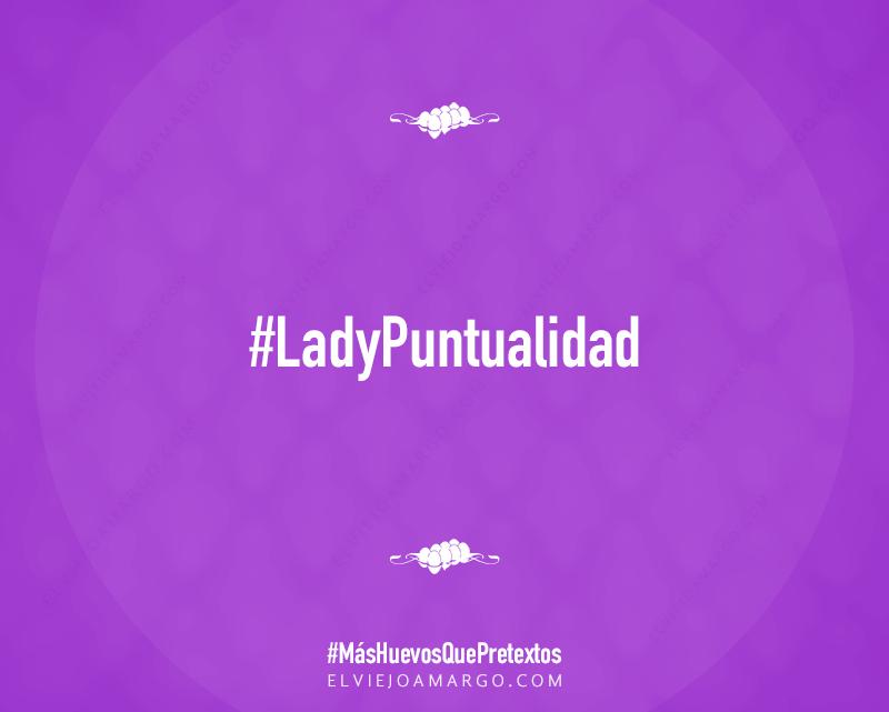 lady puntualidad