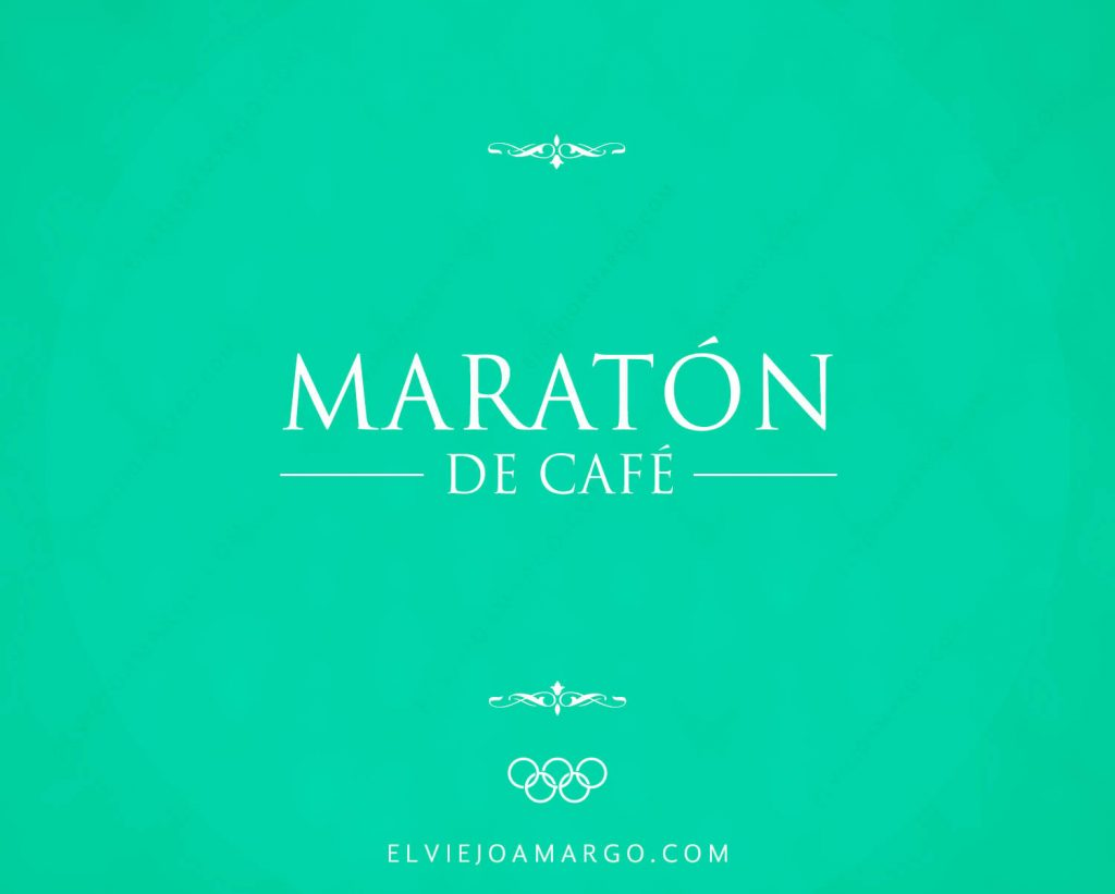 maraton de cafe