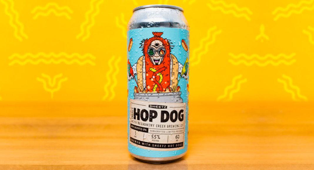 ¿Cerveza de hot dog?